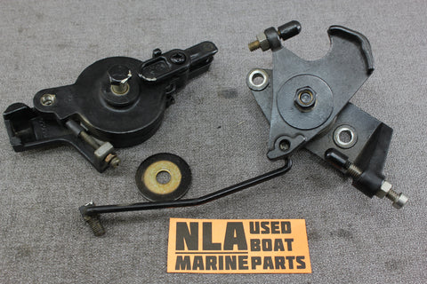Mercury 44405 39522T 35hp Spark Advance Lever Throttle Cam Actuator Linkage 2cyl