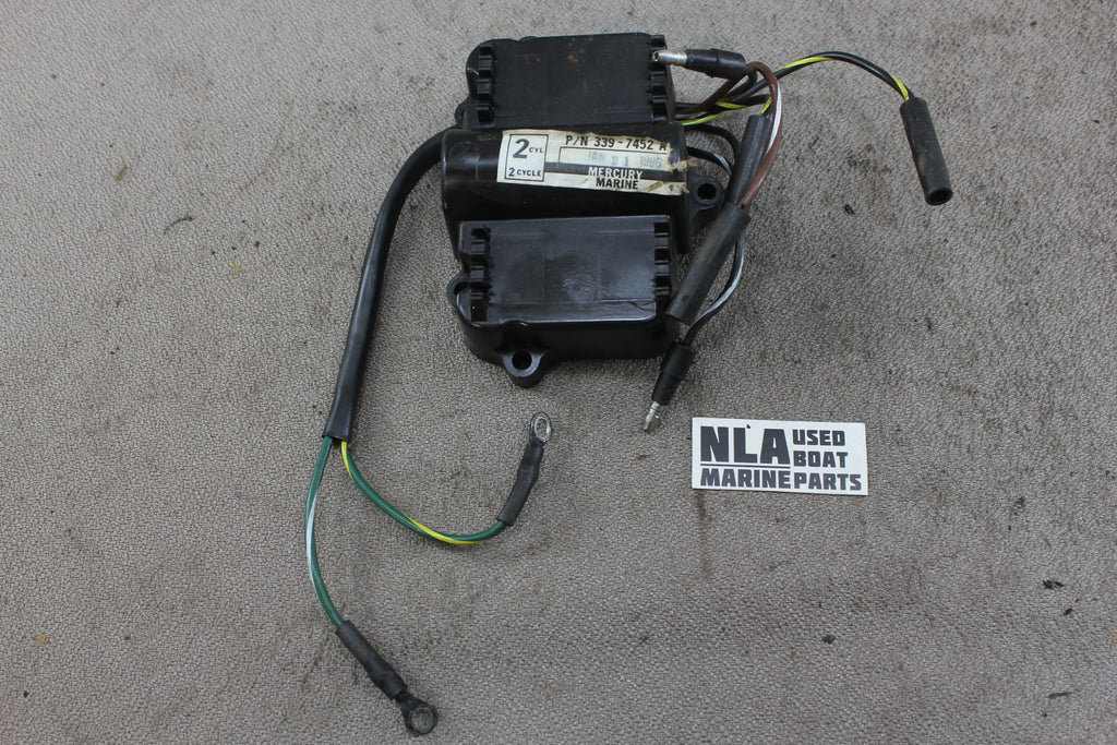 Mercury Outboard 339 7452a19 Switchbox Assembly 2cyl 8hp 6hp 15hp