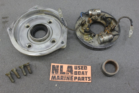 Chrysler Force Outboard 1970 55hp 559HA Ignition Plate Points Condensers Magneto - NLA Marine