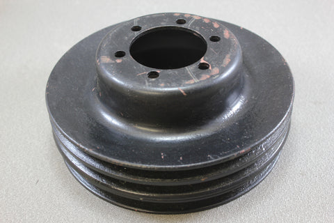 Mopar Dodge Plymouth Crank Pulley 36143-77 Big Small Block 340 360 383 3-Groove