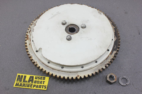 Chrysler Force Outboard 1970 55hp 559HA Flywheel Assy X14342C Nut Washer Magneto - NLA Marine