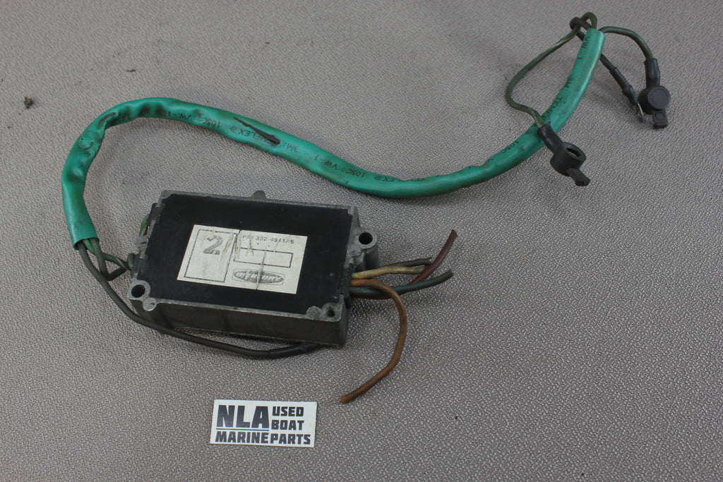 Mercury 332-4911A5 Switch Box Assembly 2cyl 402 40hp Outboard