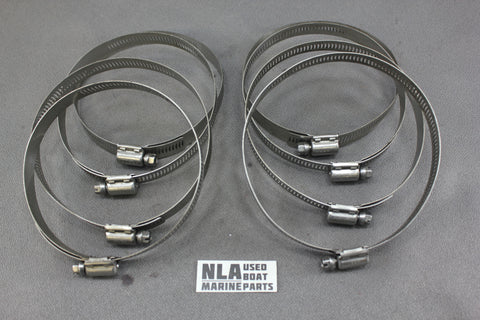"Boat Marine Stainless Steel Hose Clamp 105-127mm 54-815504372 Mercruiser 4""-5"" - NLA Marine"