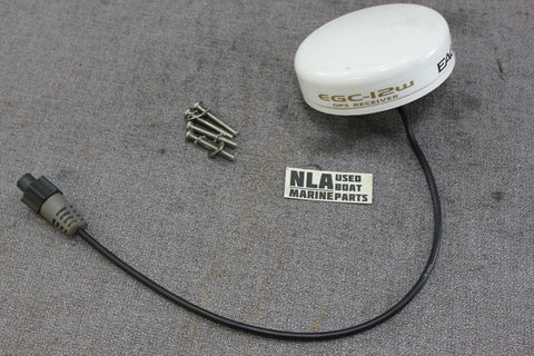 Eagle Lowrance ECG-12W GPS Receiver Antenna Puck Module Fish Finder