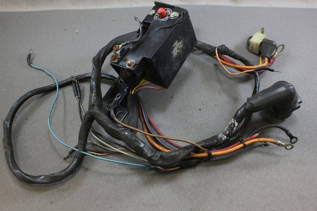 mercruiser 3 8l v6 185hp wire harness wiring circuit breaker 84 99510a nla marine