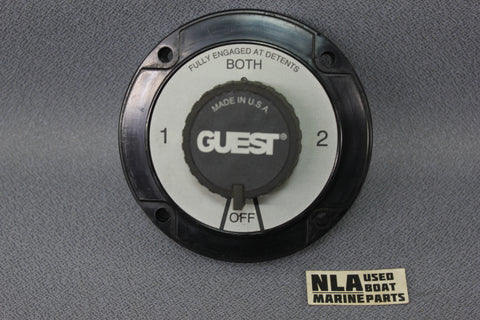Boat Marine Guest Dual Battery Selector Switch 2110A 6-32Volts 230amps ON OFF