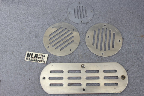 Boat Marine Perko Locker Engine Compartment Ventilator Vent Deck Plate Cover