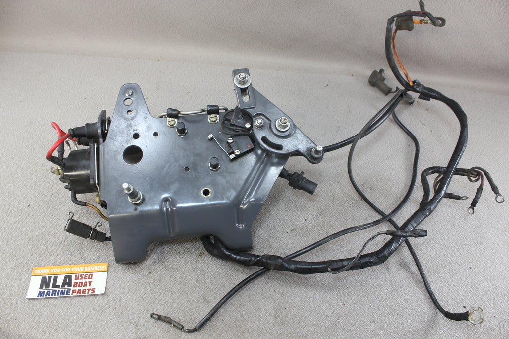 omc 985729 0985729 5 0l 5 8l 351 ford v8 wiring harness bracketwiring harness bracket neutral switch tap to expand