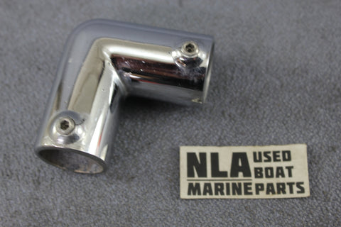 Boat Marine Bow Form Rail Nose Fitting Tubing Hardware Elbow 90ºdeg 7/8""
