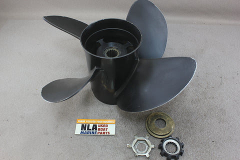 MerCruiser Alpha One 4-Blade 14x21 Turning Point Hustler 21502130 Prop Propeller