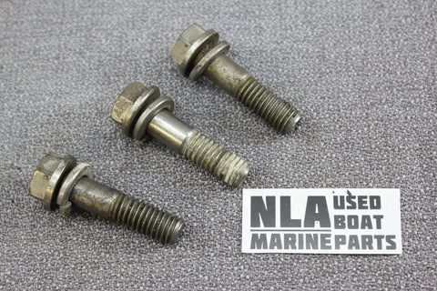 OMC 0308843 0307708 Stringer Tilt Quadrant Gear Bolts Screw Set 1968-1985 308843