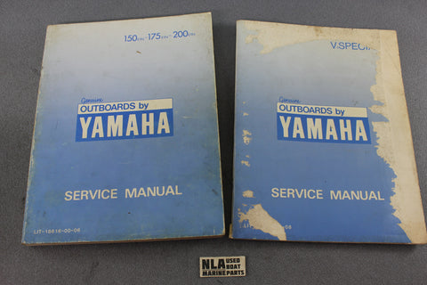 Yamaha Outboard Lit-18616-00-06 150ETN 175hp 200hp Repair Shop Service Manual-08