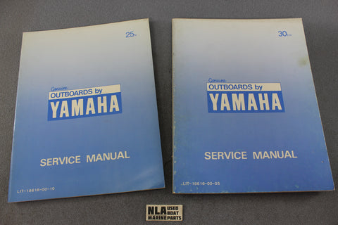 Yamaha Outboard Lit-18616-00-05 25N 30EN 25hp 30hp Repair Shop Service Manual-10