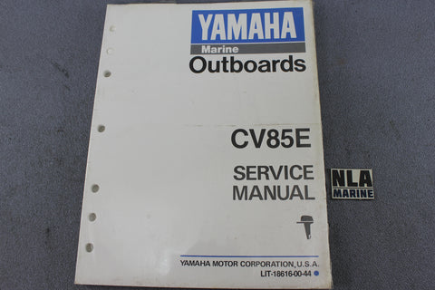 Yamaha Outboard Lit-18616-00-44 CV85E 85hp Repair Shop Service Manual Fix NEW