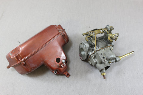 Johnson Evinrude 18hp Outboard FD-12 1958 Carburetor Carb Air Box 376404 376972