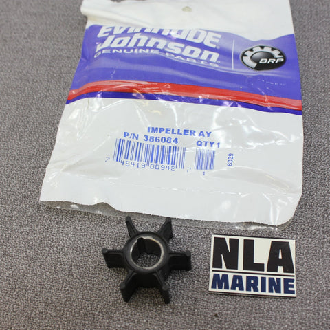 Johnson Evinrude 0386084 386084 9.9hp 15hp Outboard 1974-01 Impeller Water Pump