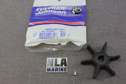 Johnson Evinrude 434424 0434424 0277181 277181 3hp 4hp Water Pump Impeller Early