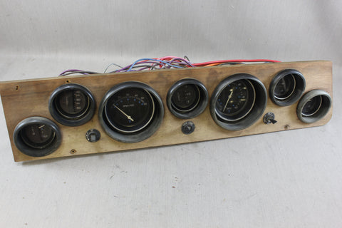 Boat 70's 1977 Sea Ray Stringer Panel Gauges Teleflex RPM Speedometer Tachometer - NLA Marine