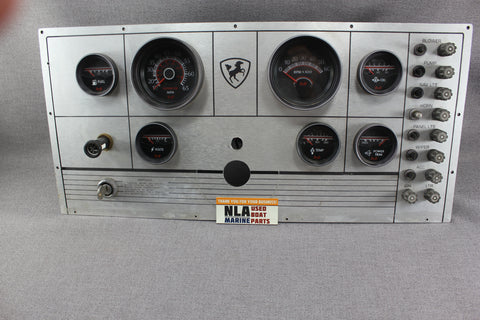 Boat Century Panel Gauges Cluster Dash Medallion RPM Speedometer Tachometer Temp - NLA Marine