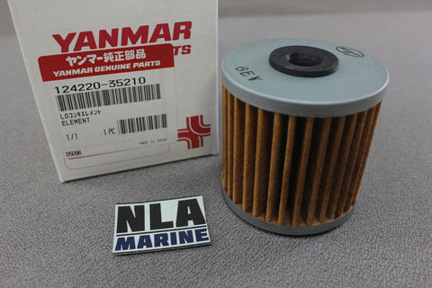 Yanmar Diesel 124220-35210 Fuel Filter Element Marine Engine 2QM Genuine Parts