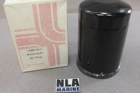 Yanmar Diesel 124085-35111 Oil Filter Element Marine Engine Genuine Parts