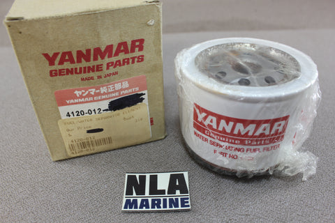 Yanmar Diesel 4120-012 Water Fuel Separator Filter Marine Engine Genuine Parts