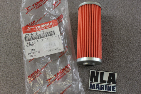 Yanmar Diesel 124550-55700 Fuel Filter Element Marine Engine Genuine Parts