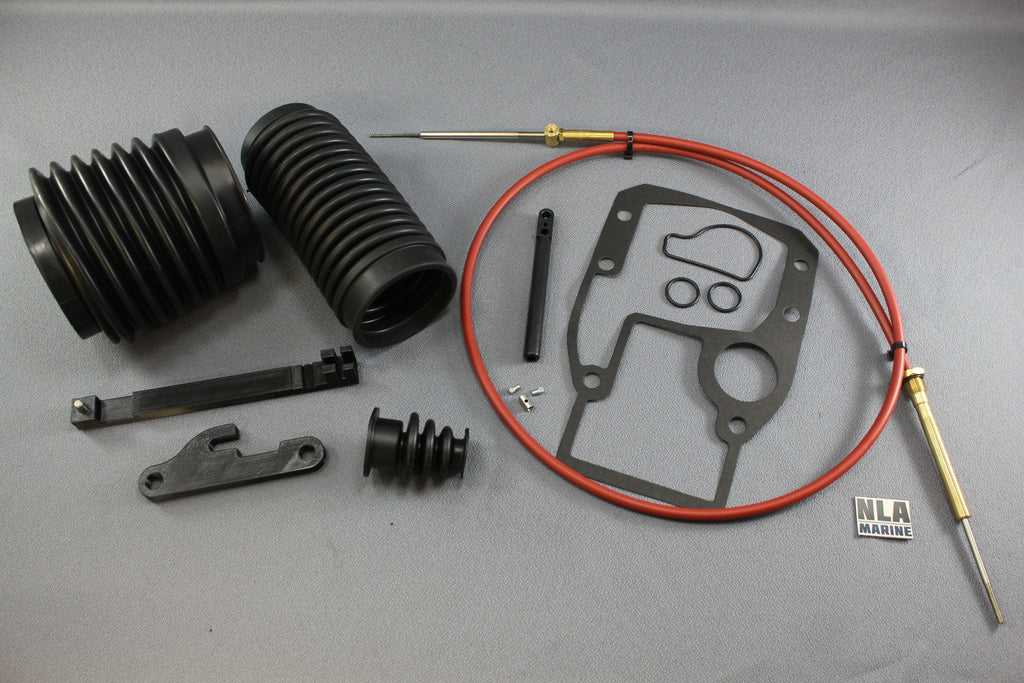 OMC Cobra Shift Cable 0987661 18-2245-1 Gimbal Bellows Kit and