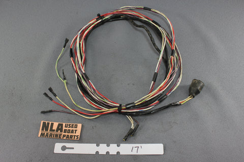 MerCruiser OMC Cobra Tilt Power Trim Pump 17FT 3-Wire Round Plug Wiring Harness