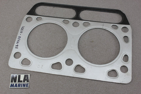 Yanmar Diesel 124450-01331 Cylinder Head Gasket Marine Engine Genuine Parts