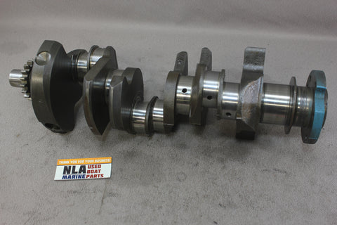 OMC Stringer 3.8L V6 Crankshaft 14006726 1981-1985 170hp 185hp 229cid 14006762N