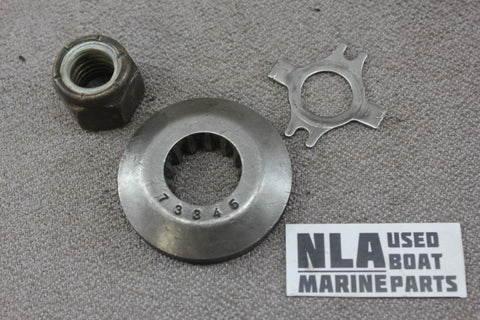 Mercury 76281 69578A1 73345A1 Prop Nut Thrust Washer Tab Propeller 40hp-70hp
