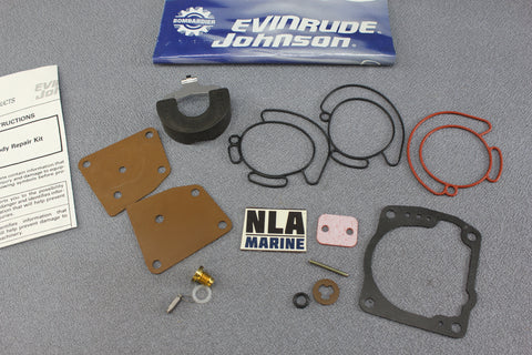 Johnson Evinrude 0438996 Carburetor Carb Rebuild kit V4 V6 Looper 90-175 1995-06