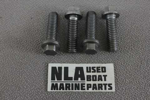 OMC 123018 0123018 4PK Cobra Upper Gear Housing Cover Screw Bolt Set Bolts 86-93