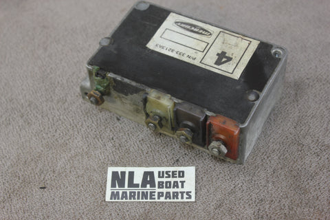 Mercury 333-3213A3 Outboard Ignition Switch Box Assembly 50hp 500 4cyl 1968-1975