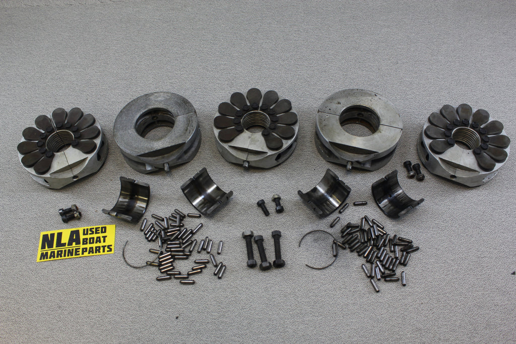 Mercury Outboard 150hp 1973 Crankshaft Bearing Reed Cages