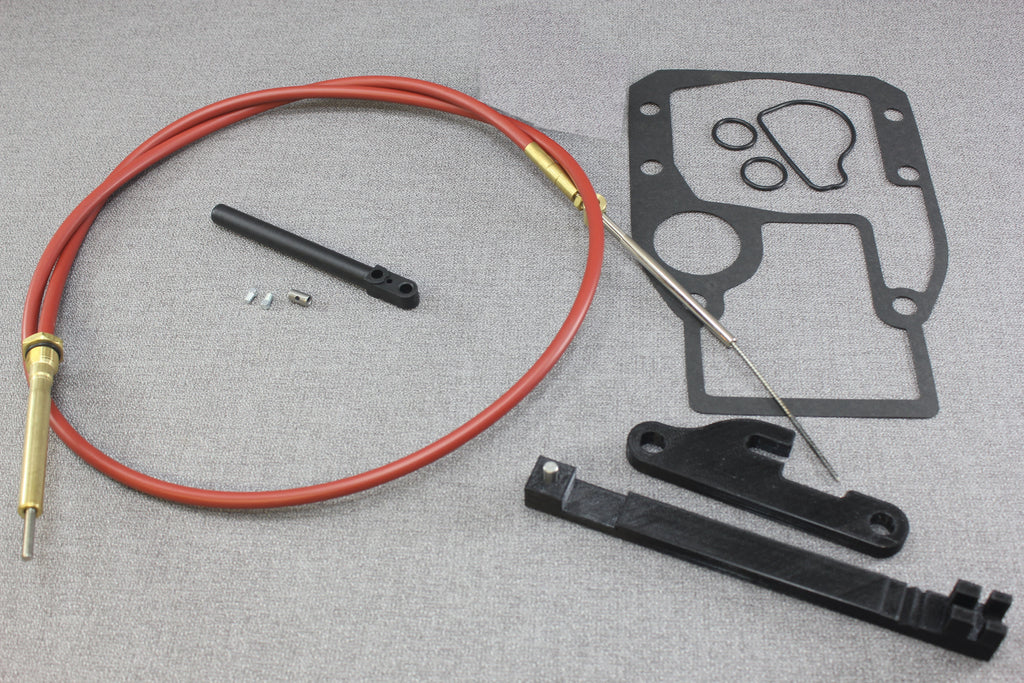 Boat Shift Cable Adjust : Omc cobra shift cable  complete kit