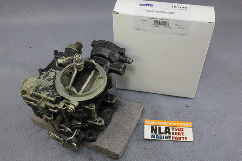 MerCruiser 1351-4871A1 Rochester Carburetor GM 2-barrel 165hp 6cyl 4.1L 250CID