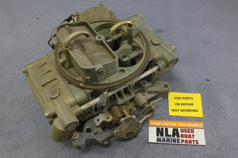 Ford Marine Holley Carburetor D4JL-G 4-BBL PARTS ONLY OMC 302 351 V8 Motocraft