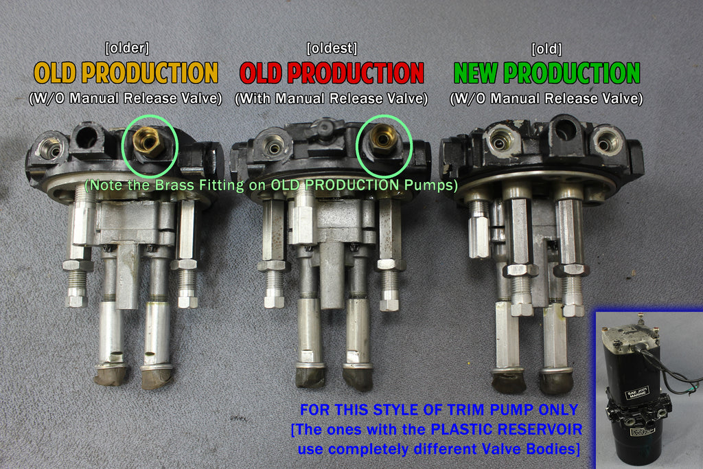 Mercury Outboard 1060525 Power Trim Components Diagram And Parts