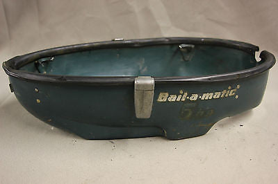 Scott Atwater Outboard 5hp Bail-A-Matic Lower Cowl Cowling Side Cover 1956