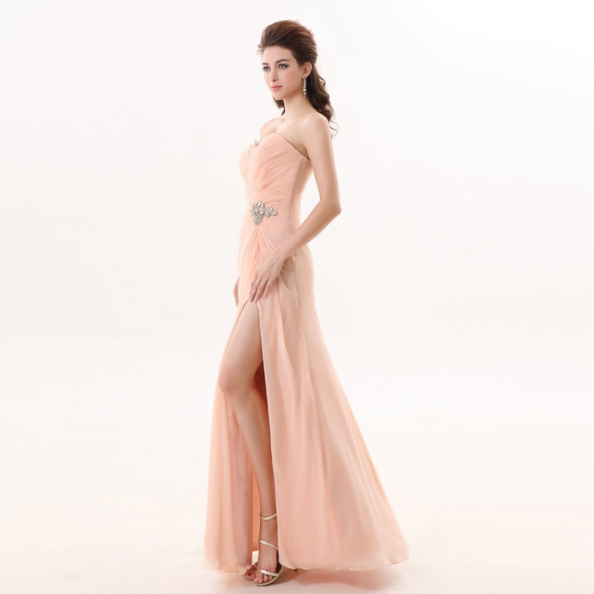 Bridesmaid Dresses 2017 Youxi Bd012 Womens Sweetheart Soft Pink