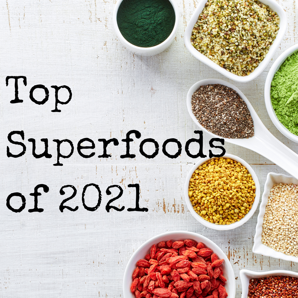 Top 5 Superfoods of 2021