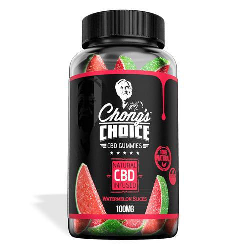 Chong's Choice Gummies - CBD Infused Watermelons [Edible Candy]