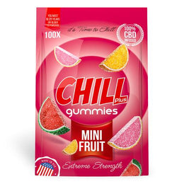 Chill Plus Gummies - CBD Infused Mini Fruits