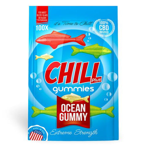 Chill Plus Gummies - CBD Infused Ocean Gummies
