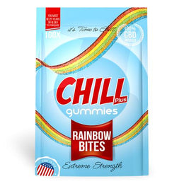 Chill Plus Gummies - CBD Infused Rainbow Bites