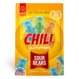 Chill Plus Gummies - CBD Infused Sour Bears