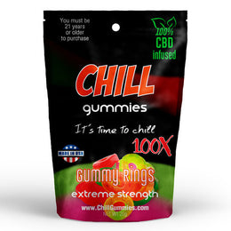 CHILL GUMMIES - CBD INFUSED GUMMY RINGS
