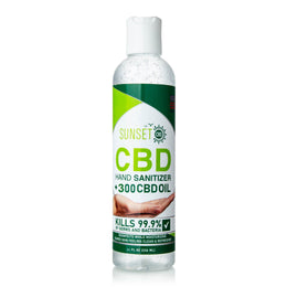 Sunset CBD Hand Sanitizer 16 oz